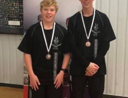 Bronze Medal - Dylan Foster and Matthew Foster